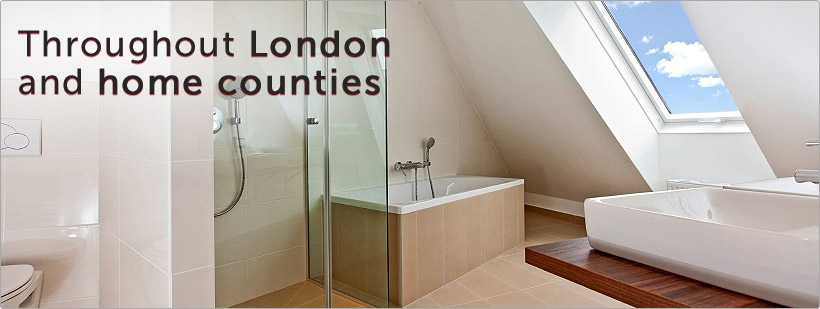 Throughout London and the home counties.